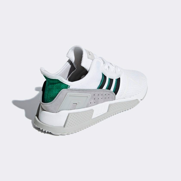 [BB7178] M ADIDAS EQT CUSHION GREY WHITE GREEN