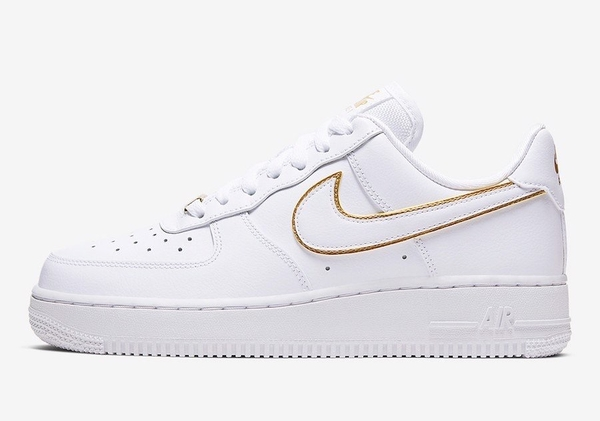 [AO2132-102] W NIKE AIR FORCE 1 '07 ESSENTIAL GOLD