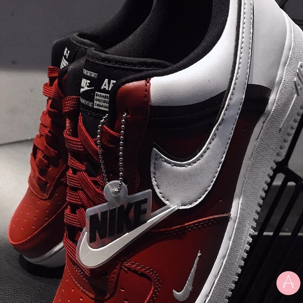 [CI1756-600] K NIKE AIR FORCE 1 '07 LV8 2 '' TEAM RED WHITE ''