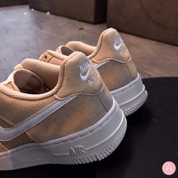 [BV0064-200] K NIKE AIR FORCE 1 PE DESERT BEIGE WHITE