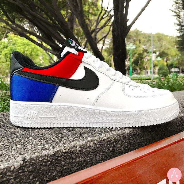 [CW7010-100] M NIKE AIR FORCE 1 '07 LV8 LOW WHITE MULTI COLOR