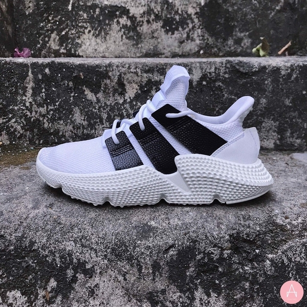 [B41886] K ADIDAS PROPHERE WHITE BLACK