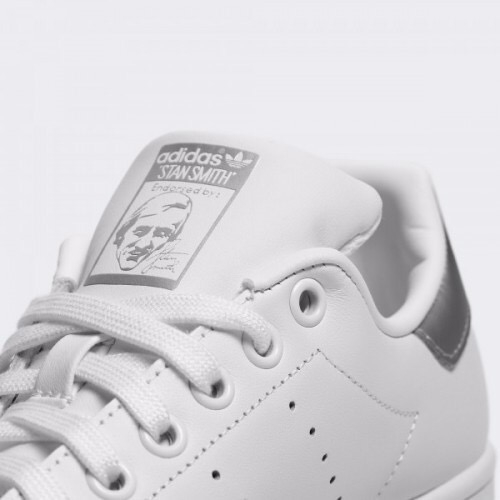 [BC0857] W ADIDAS STAN SMITH SLEEKY WHITE GREY