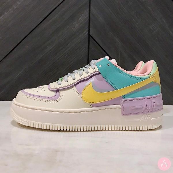 [CI0919-101] W NIKE AIR FORCE 1 SHADOW PALE IVORY