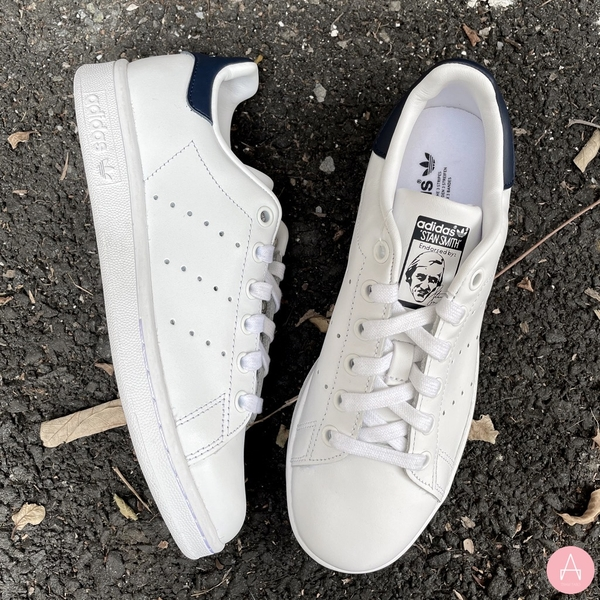 [S81020] W ADIDAS STAN SMITH WHITE NAVY 2020
