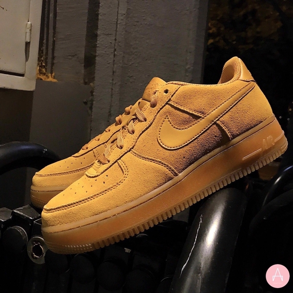 [BQ5485-700] K NIKE AIR FORCE 1 LV8 3 WHEAT
