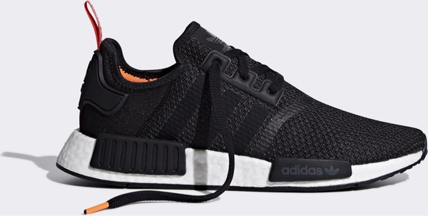 "[B37621] M ADIDAS NMD R1 ""BLACK & SOLAR ORANGE"""