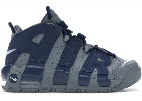 [415082-009] K NIKE AIR UPTEMPO NAVY COOL GREY