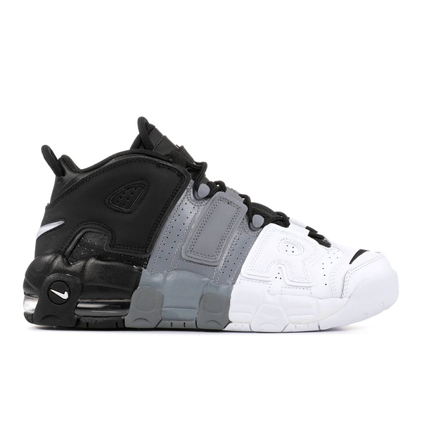 [415082-005] K NIKE AIR UPTEMPO MULTICOLOR BLACK GREY WHITE