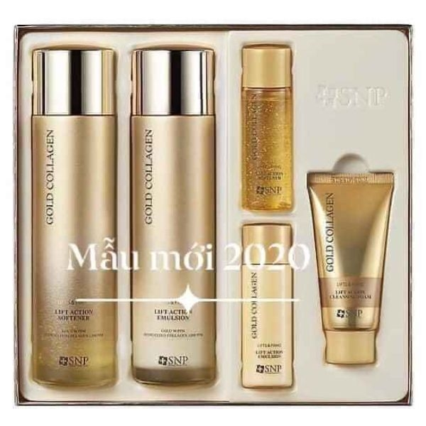 set-duong-trang-nang-co-snp-gold-collagen-lift-action-special