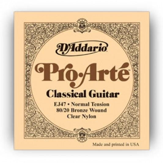 d-addario-ej47-80-20-bronze-pro-arte-nylon-classical-guitar-strings-normal-tensi