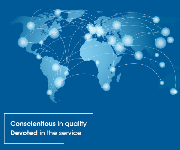 Conscientious in quality - Devoted in the service