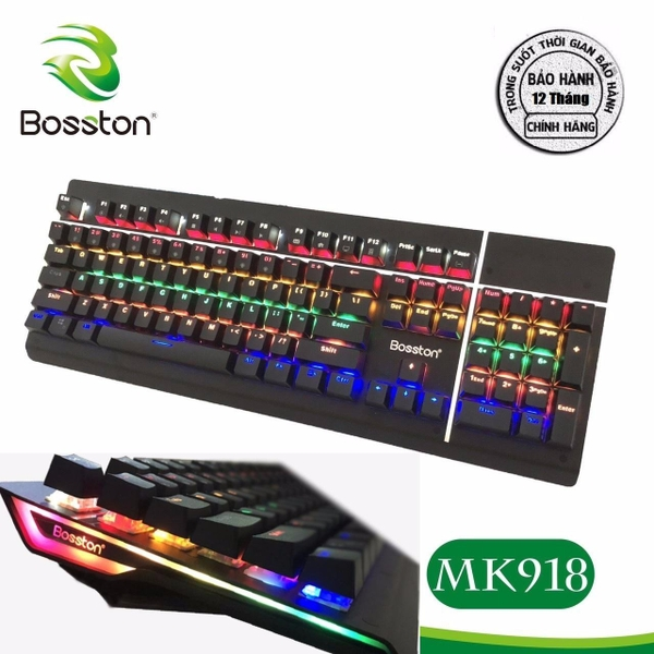 ban-phim-co-bosston-mk918-full-led-blue-switch-new-chinh-hang