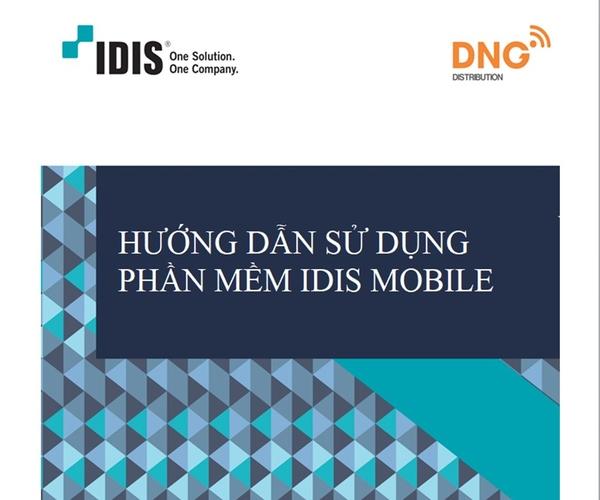 Cách cài đặt xem camera qua điện thoại của camera IDIS