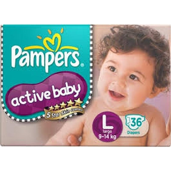 Bỉm PAMPERS ACTIVE BABY L