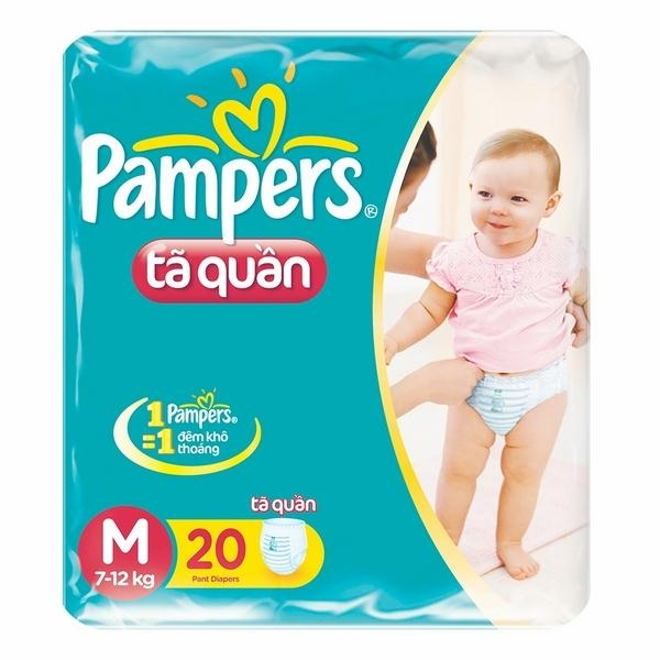 Bỉm Pampers M
