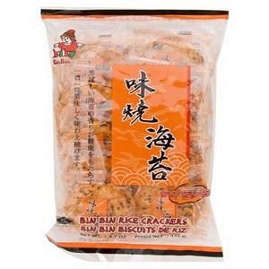 Bánh gạo Rice cracker Spicy Seaweed  BIN BIN 135gr