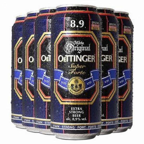 Bia ORIGINAL OETTINGER SUPER FORTE  500ML