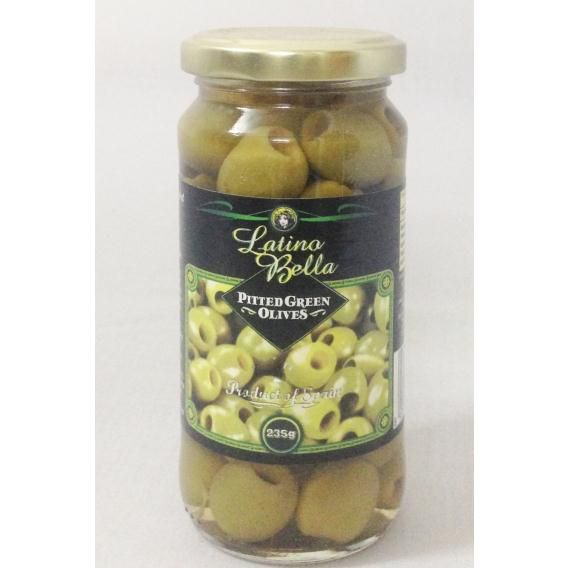 Quả Olive Pitted Green Olives 235g
