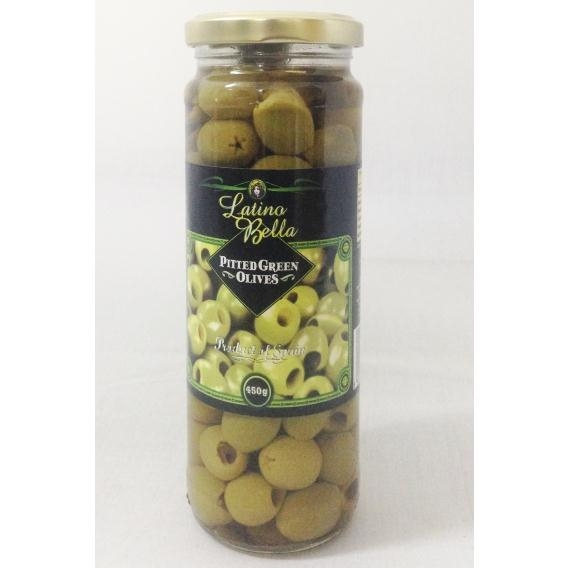 Quả Olive Pitted Green Olives 450g