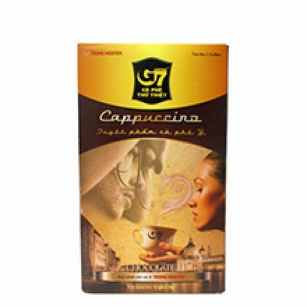 Coffee hoà tan G7 Capuchino chocolate 18gr x 12 Hộp