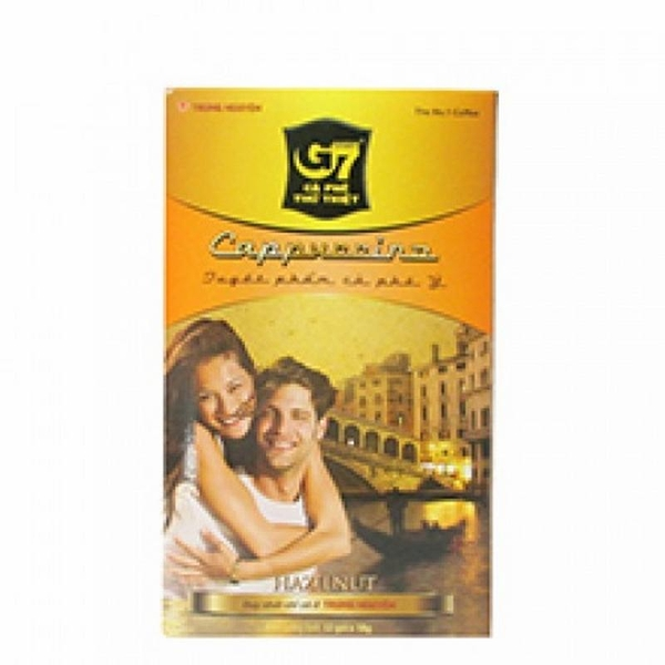 Instant Coffee G7 Capuchino hazelnut 12 x 18g