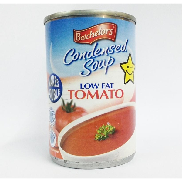 súp BACHELORS CONDENSED SOUP LOW FAT TOMATO  295G