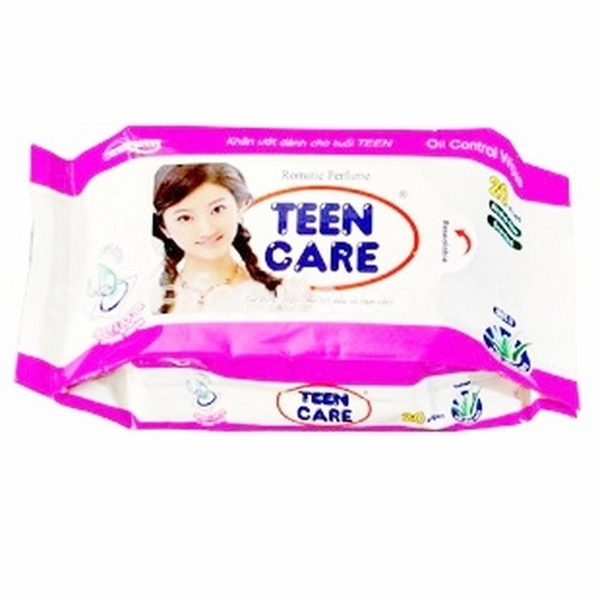 KHĂN ƯỚT TEEN CARE Wet Napkin 20 sheets