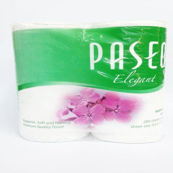 Giấy vệ sinh Paseo Xanh Toilet paper 4 rolls