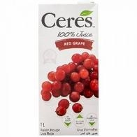 Nước Nho Đỏ Ceres red grape 1l
