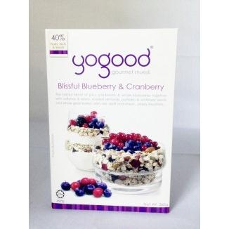 Ăn Sáng gogood Blissful Blueberry  Cranberry 375g