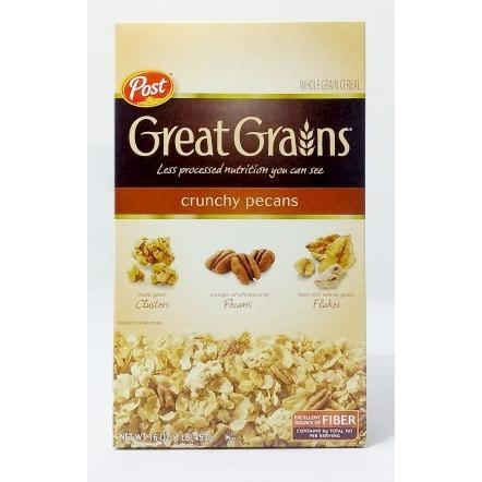 Ăn Sáng POST Great Grains crunchy pecans 451g