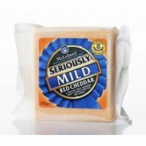 Pho mát Seriously Mild Red Cheddar 200gr