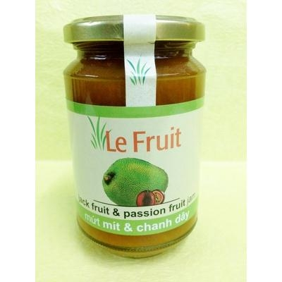 Mứt Mít ,Chanh Dây Le Fruit jack fruit passion fruit jam 340g