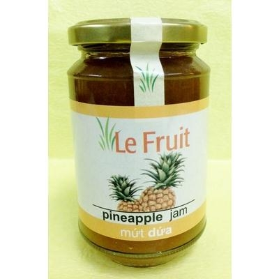 Mứt Dứa Le Fruit pineapple jam 340g