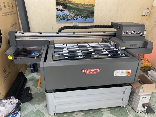 Lắp đặt máy in uv phẳng Taimes 9060 cho khách hàng Bùi Công Tuyển tại Ninh Bình
