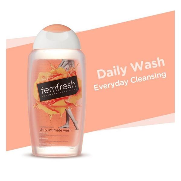 Dung dịch vệ sinh Femfresh (màu cam) hàng UK.inHA