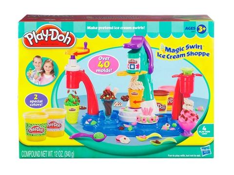 Vỏ hộp sản phẩm Play-Doh 32917 - Máy làm kem đa năng
