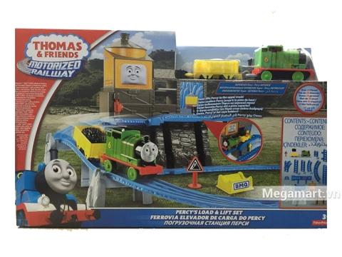 Thomas and Friends Bộ đường ray vận chuyển hàng bằng thang máy Percy - ảnh bìa sản phẩm