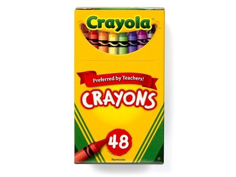 Hình ảnh vỏ hộp bộ Crayola Bút sáp 48 màu