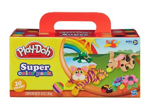 Vỏ sản phẩm Play-Doh A7924 - Bột nặn 20 màu
