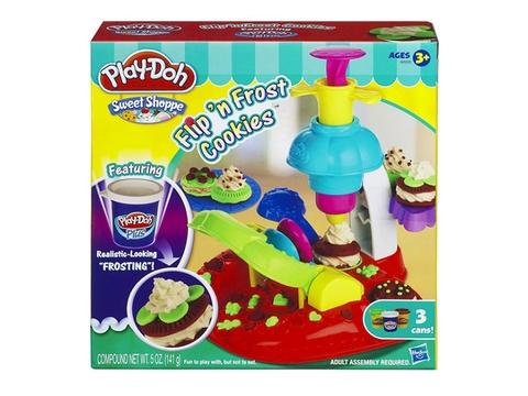 Vỏ hộp sản phẩm Play-Doh A0320- Thiên đường bánh ngọt