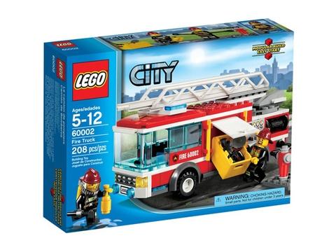 Hình ảnh bộ ghép hình Lego City 60002 - Xe Cứu Hỏa