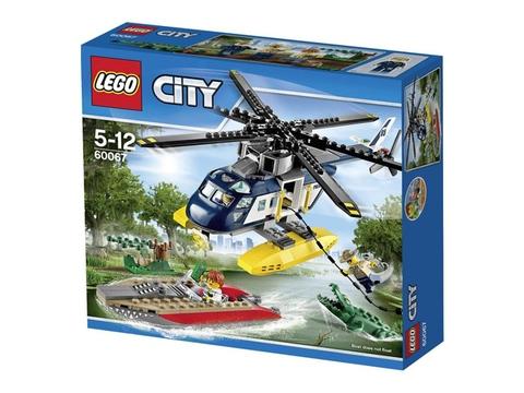 Hình ảnh bô ghép hình Lego City 60067 - Trực Thăng Truy Đuổi