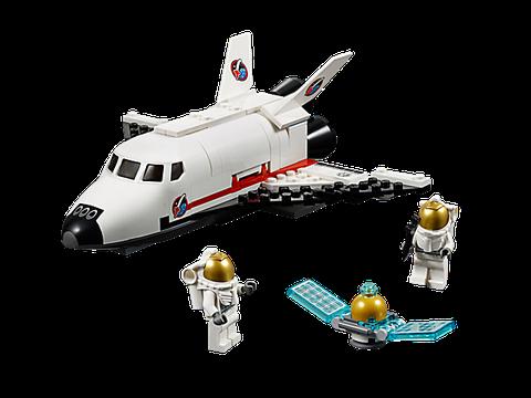 Các chi tiết có trong bộ xếp hình Lego City 60078 - Tàu con thoi tiện ích