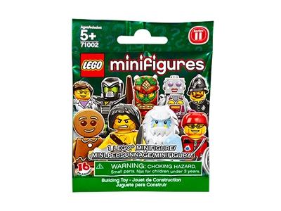 Túi đựng 1 mô hình trong Lego Minifigures 71002 - Nhân vật Lego số 11