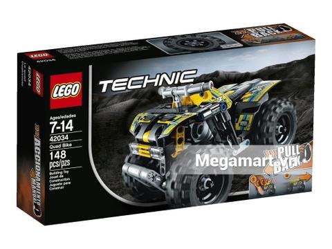Hình ảnh vỏ hộp bộ Lego Technic 42034 - Quad Bike
