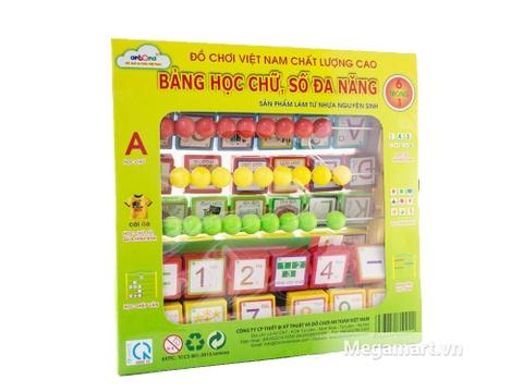 Thiết kế bên ngoài đồ chơi Antona Bảng chữ số đa năng mẫu 1