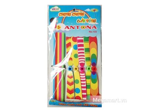 Túi đựng đồ chơi Antona Chong chóng cầu vồng 5C