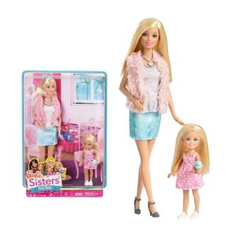 Trọn bộ Barbie Bộ 2 chị em Barbie